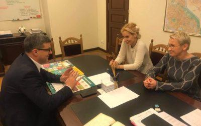 Зустрічь з заступником КМДА Валентином Мондриївським